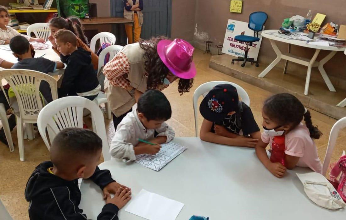 L'école publique Abou ali Qali (à Hay Mohammadi) est désormais un centre de loisirs éducatifs